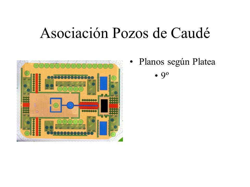 Asociación Pozos de Caudé Planos según Platea 9º