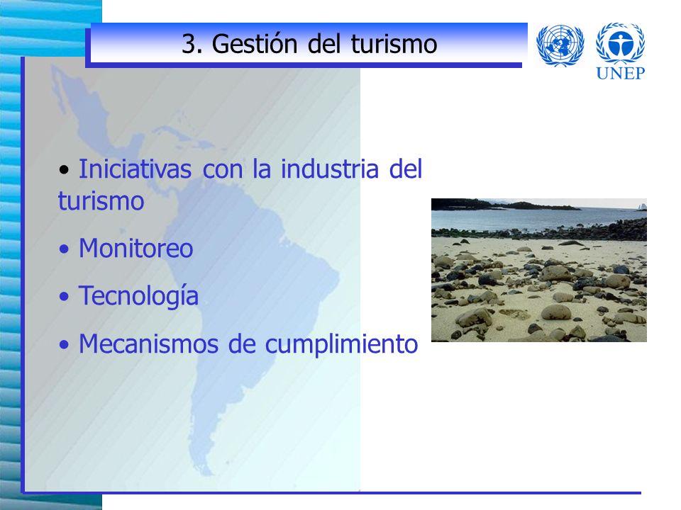 2. Desarrollo del turismo sostenible Planeación del desarrollo y uso de la tierra a nivel nacional.