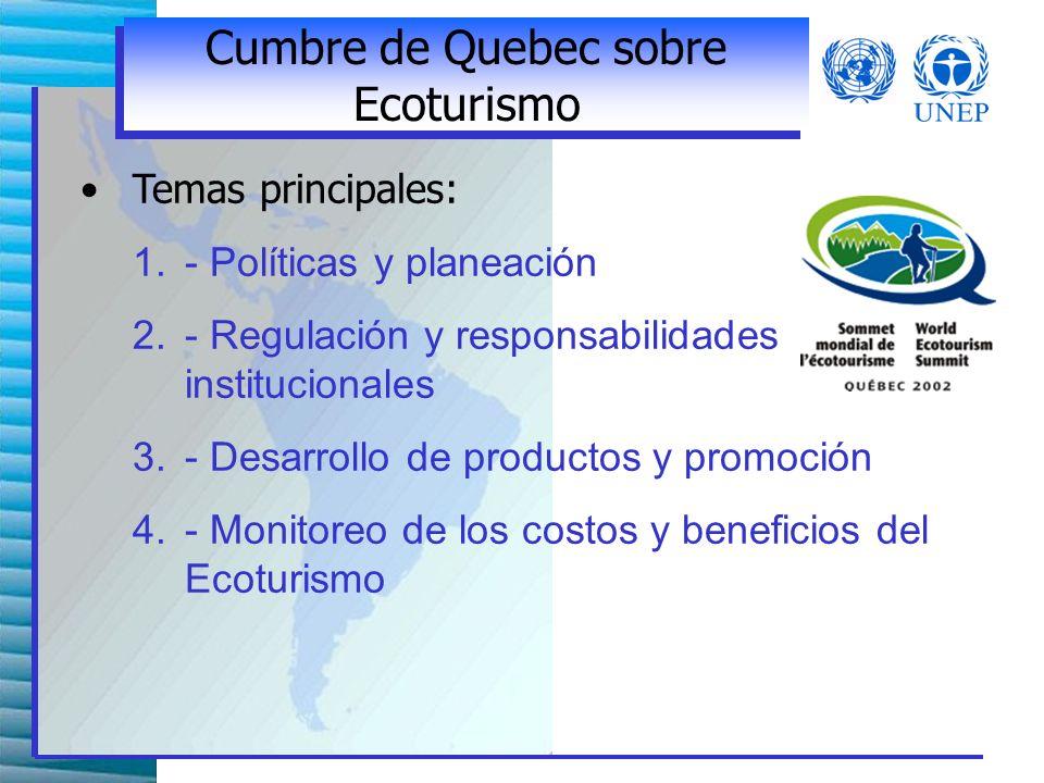 Acciones de la Industria Apoyar el desarrollo sostenible de las destinaciones turísticas Trabajar con las comunidades locales Promover la calidad ambiental Realizar informes públicos de funcionamiento ambiental