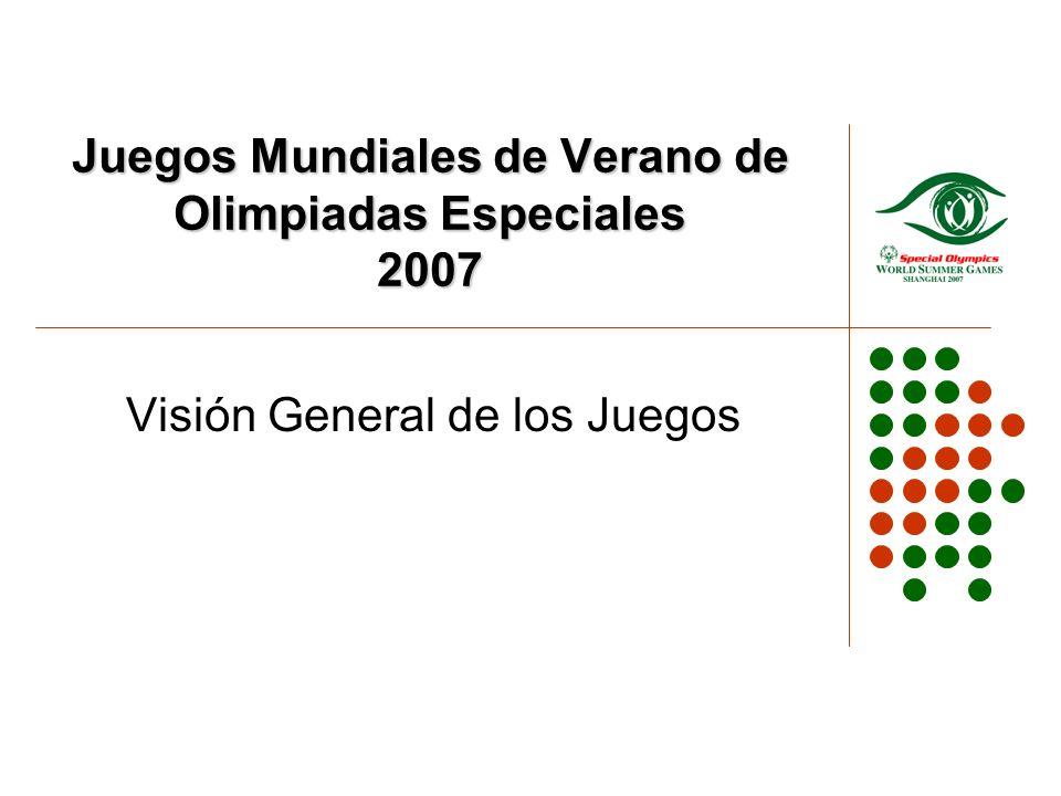 Juegos Mundiales de Verano de Olimpiadas Especiales 2007 Visión General de los Juegos