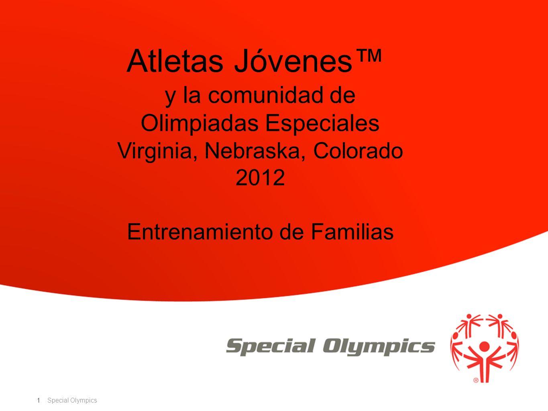 Special Olympics 1 Atletas Jóvenes y la comunidad de Olimpiadas Especiales Virginia, Nebraska, Colorado 2012 Entrenamiento de Familias