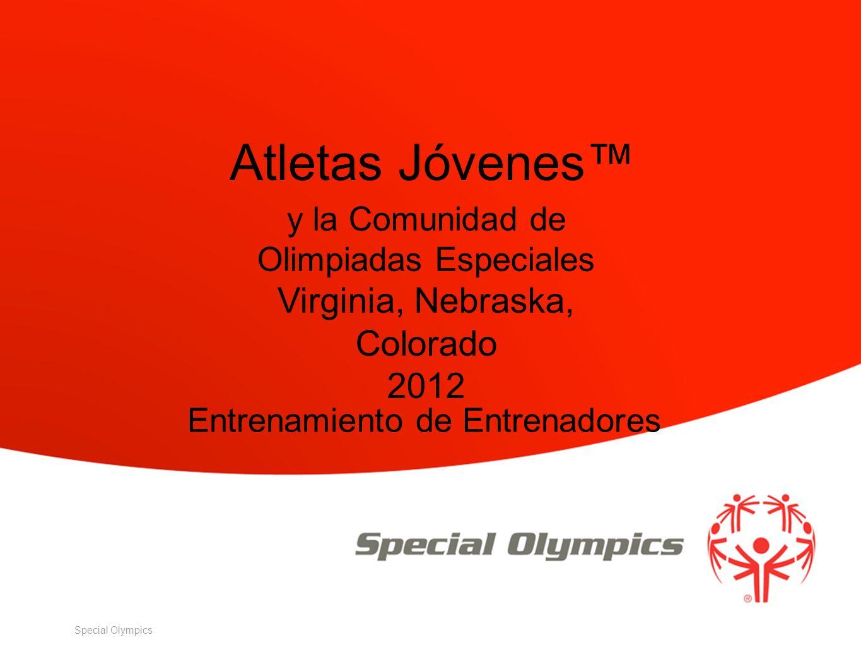 Special Olympics Entrenamiento de Entrenadores y la Comunidad de Olimpiadas Especiales Virginia, Nebraska, Colorado 2012 Atletas Jóvenes