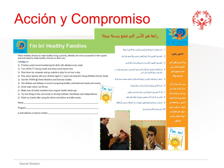Special Olympics Acción y Compromiso