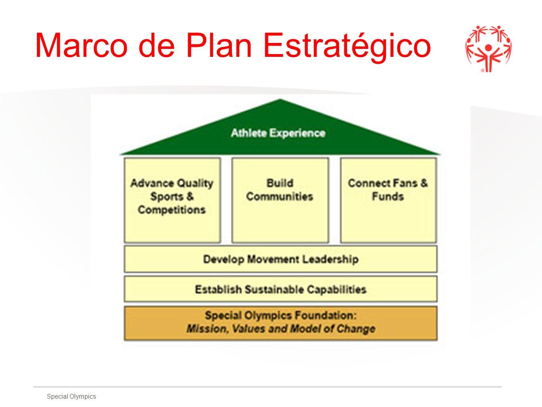 Special Olympics Marco de Plan Estratégico