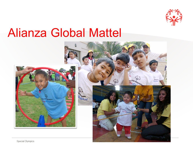 Special Olympics Alianza Global Mattel
