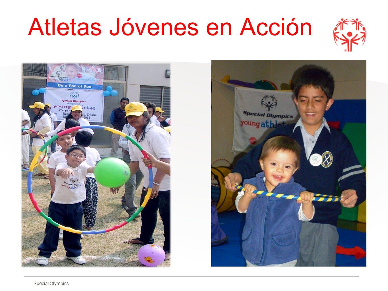 Special Olympics Atletas Jóvenes en Acción