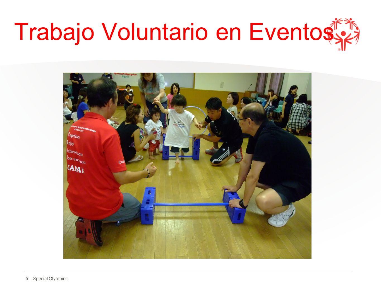 Special Olympics Trabajo Voluntario en Eventos 5