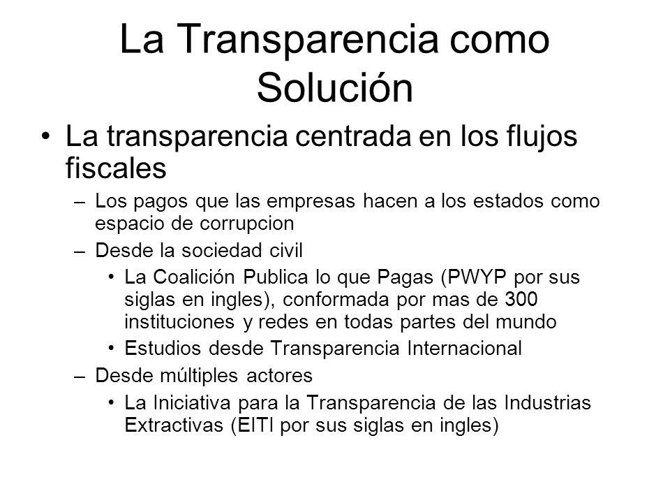 Transparencia, Corrupción, Desarrollo temas para el debate Transparencia y desarrollo –La transparencia pone mayor información a disposición de la opinión pública.