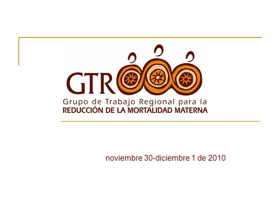 El durante Mesa de apertura Panel introductorio: Tendencias globales y regionales de la mortalidad materna.