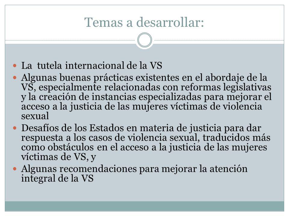 Violencia Sexual según la Corte IDH es un acto que vulnera el derecho a la dignidad de las mujeres.