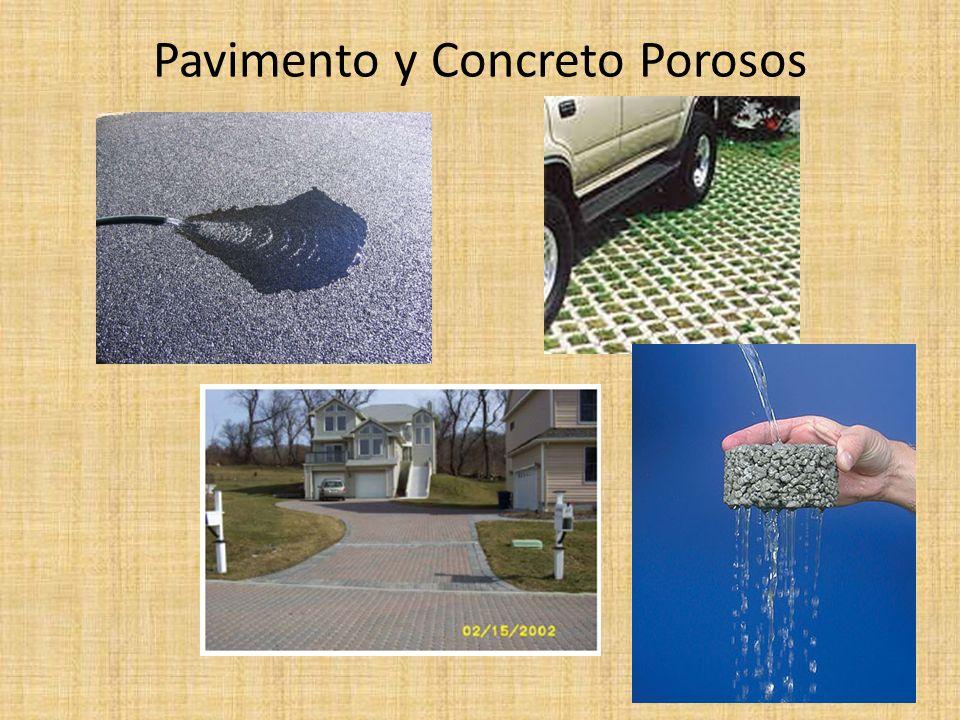 Pavimento y Concreto Porosos