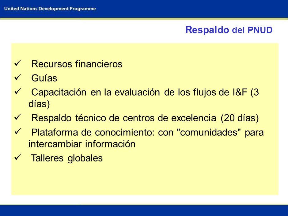 65 Equipo de trabajo para la evaluación del flujo de I&F Equipo del sector 1; p.