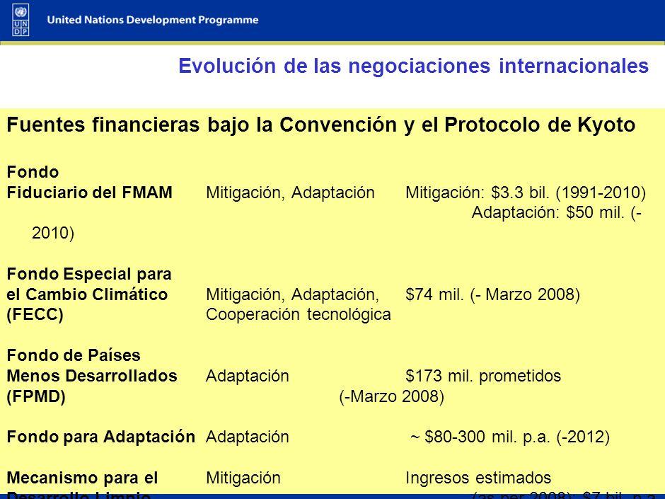 43 Qué sabemos Los montos son grandes en términos absolutos, pero relativamente pequeños en relación con PBI e inversiones El sector privado domina las inversiones: corporaciones (60%), hogares (24%), gobierno (14%) Los fondos existentes de cambio climático deberán ser mejorados a una mayor escala Las medidas de mitigación requerirán flujos adicionales de I&F de US$ 200-210 miles de millones en 2030 Las medidas de adaptación requerirán flujos de I&F adicionales de varias decenas de miles de millones de US$ para 2030
