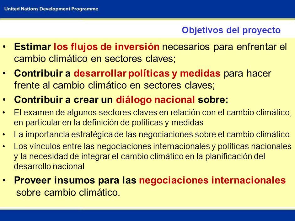 42 Políticas y medidas de desarrollo sostenible (SD-PAMs) Propuestas en consideración en las negociaciones Establecimiento de objetivos de mitigación como parte de los objetivos de desarrollo sostenible (por ejemplo, para la electrificación áreas rurales del país para el año 2030 utilizando energías renovables) Los mecanismos de financiamiento para estos objetivos pueden variar (CDM, mecanismo financiero, etc.) Las opciones pueden ser implementadas en base a las disposiciones existentes en la Convención y el PK (Artículo 4.1 (b) de la Convención y Artículo 10 del PK)