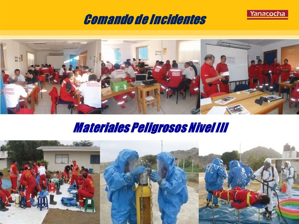Comando de Incidentes Materiales Peligrosos Nivel III