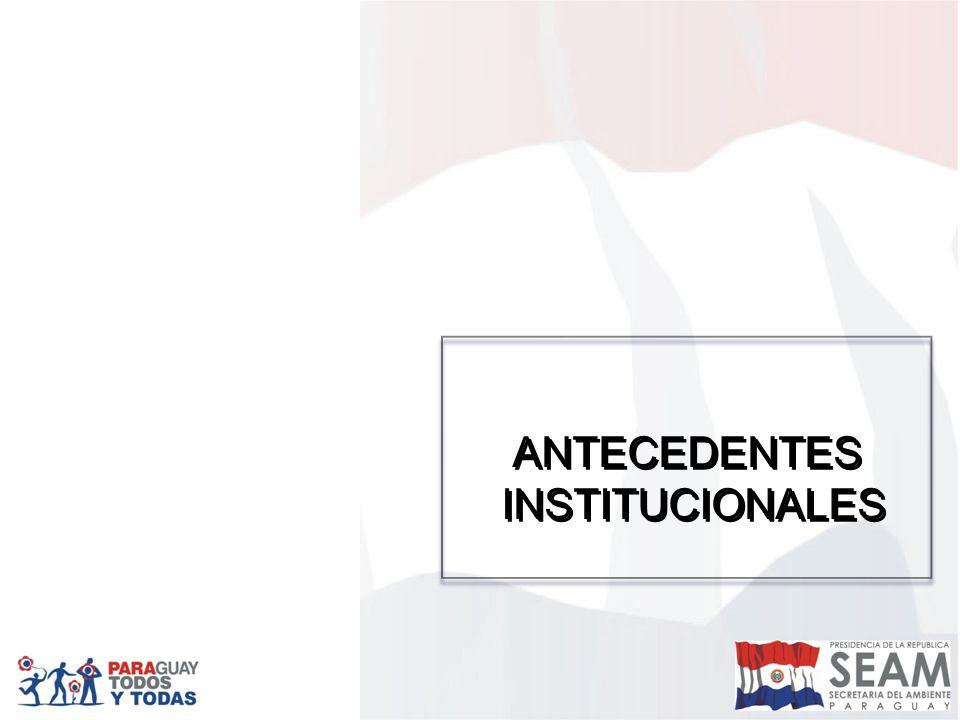 DESAFIOS Gestión socio ambiental fortalecida con el trabajo conjunto de la SEAM, los integrantes del Consejo Nacional del Ambiente (CONAM), los diferentes sectores de la Sociedad Civil y la implementación del Fondo Nacional Ambiental, Paraguay ubicado entre los mejores países con calidad ambiental en la región, caracterizada por un desarrollo, basado en la sustentabilidad con enfoque de derechos.