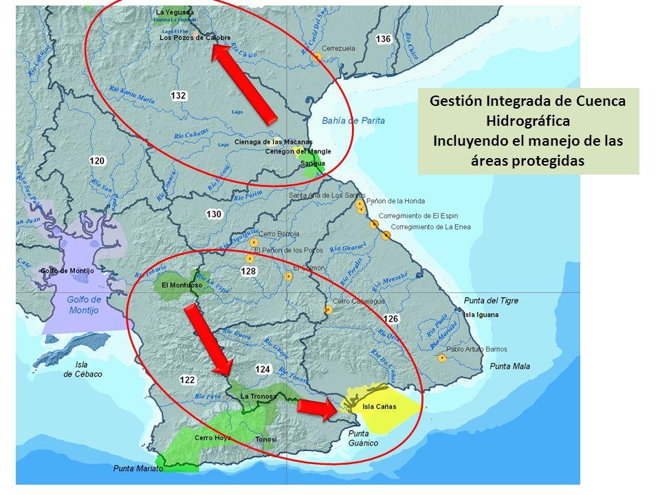 Gestión Integrada de Cuenca Hidrográfica Incluyendo el manejo de las áreas protegidas