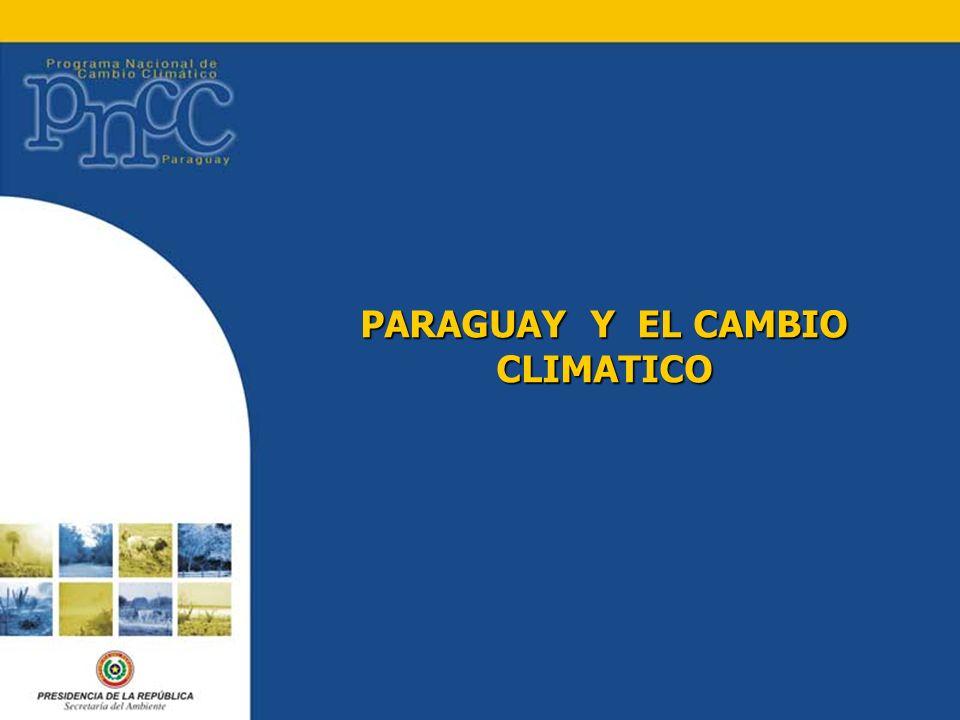PARAGUAY Y EL CAMBIO CLIMATICO