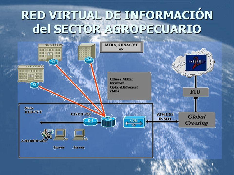 RED VIRTUAL DE INFORMACIÓN del SECTOR AGROPECUARIO