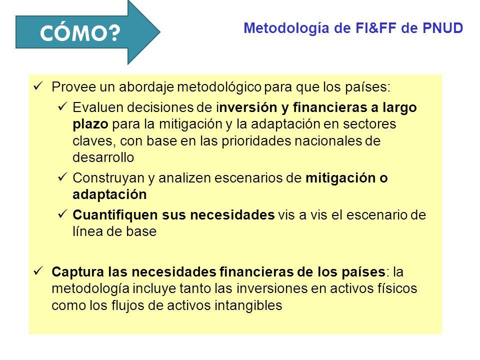 Metodología y resultados generales GFA/FUNDECOR