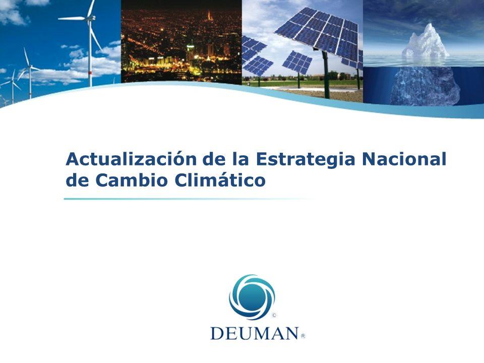 Actualización de la Estrategia Nacional de Cambio Climático