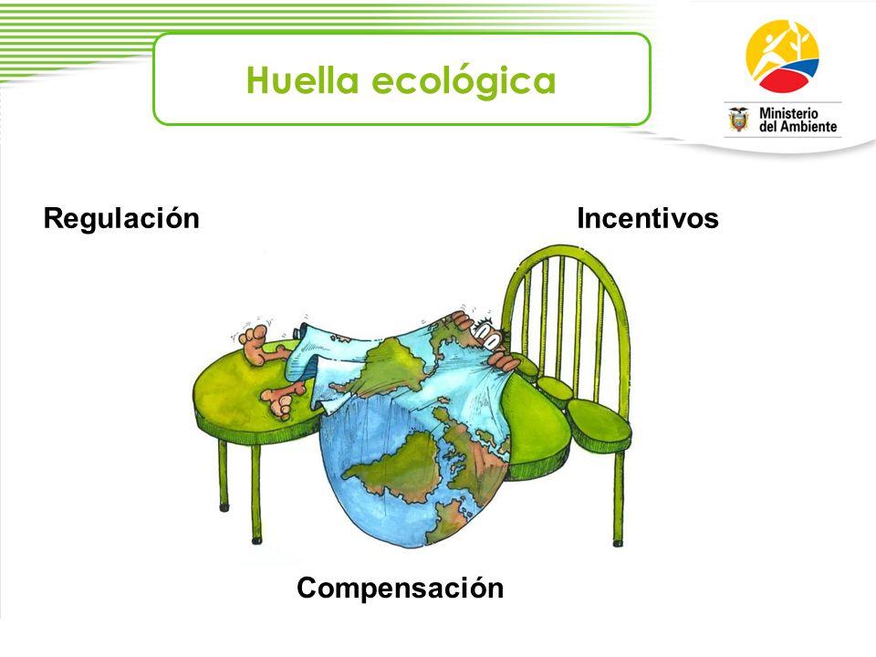 Huella ecológica RegulaciónIncentivos Compensación