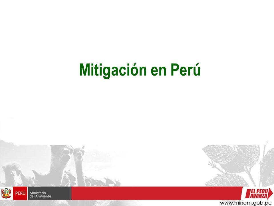Mitigación en Perú