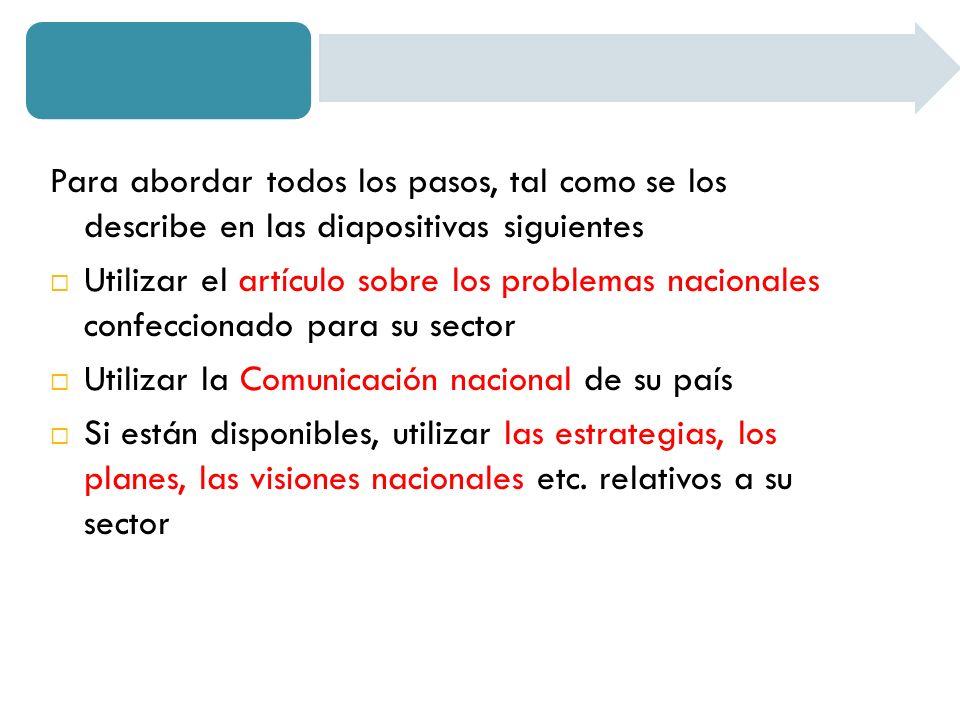Definir el alcance detallado del sector Qué subsectores se incluirán Qué procesos, actividades, entidades se incluirán … 1.