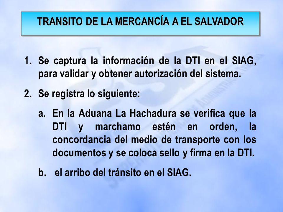 1.Recepción de la documentación de importación. 2.Captura y transmisión de la declaración para imprimir, firmar y sellar la DTI 3.Se entrega documenta