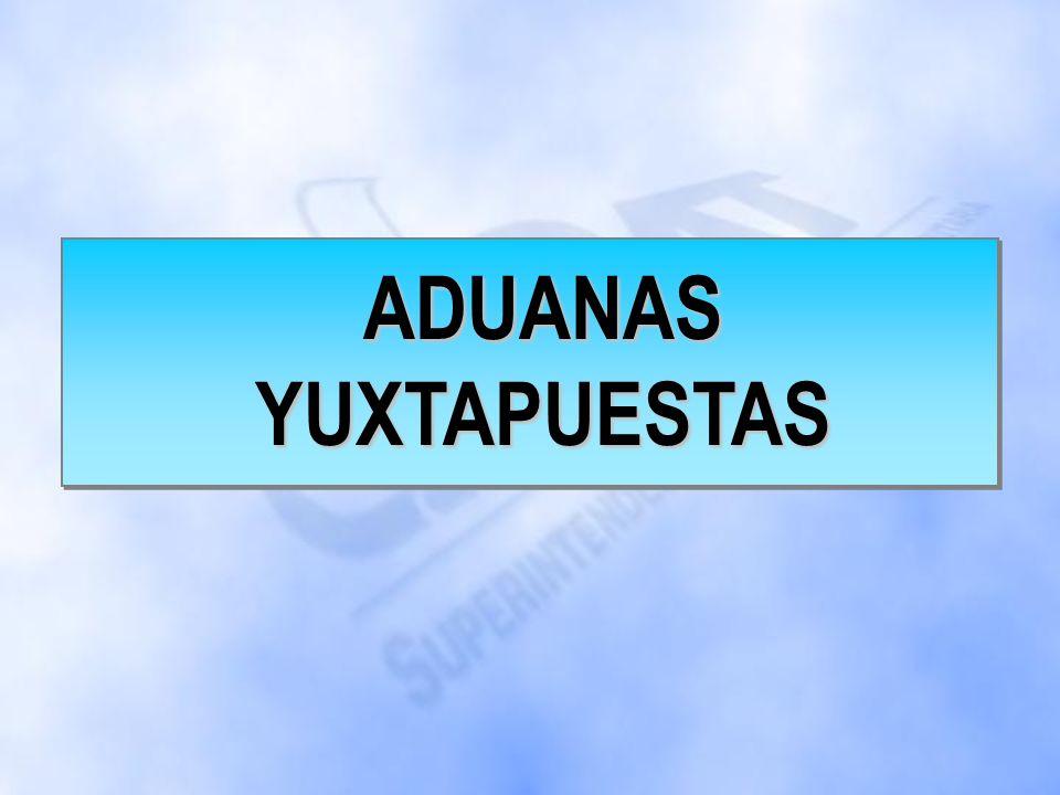 INTENDENCIA DE ADUANAS