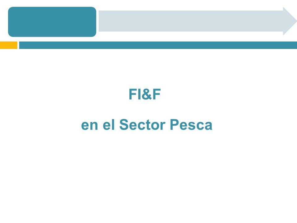 FI&F en el Sector Pesca