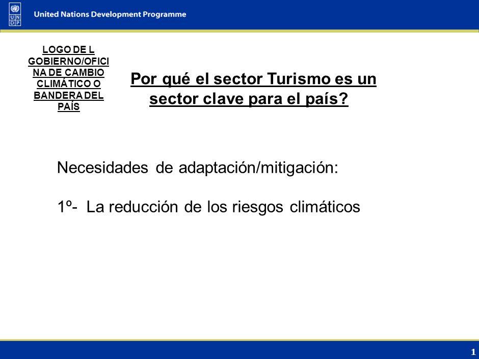0 DIÁLOGO INTERMINISTERIAL SOBRE EL CAMBIO CLIMÁTICO Santo Domingo, Dominicana 24/06/ 2009 Informe Nacional: Sobre el Cambio Climático Sector: TURISMO