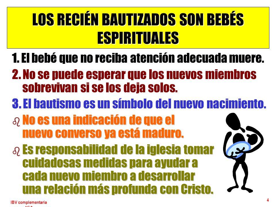 IBV complementaria Nº 2 5 PARA CONSIDERAR El evangelismo, p.