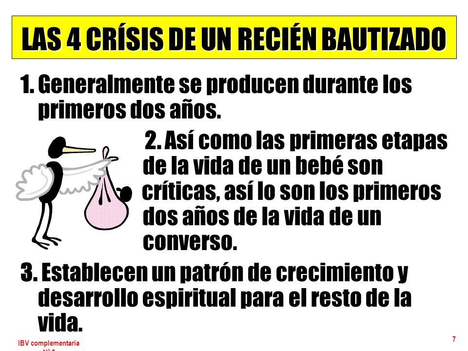 IBV complementaria Nº 2 18 LA CRISIS DE INTEGRACIÓN Soluciones 1.