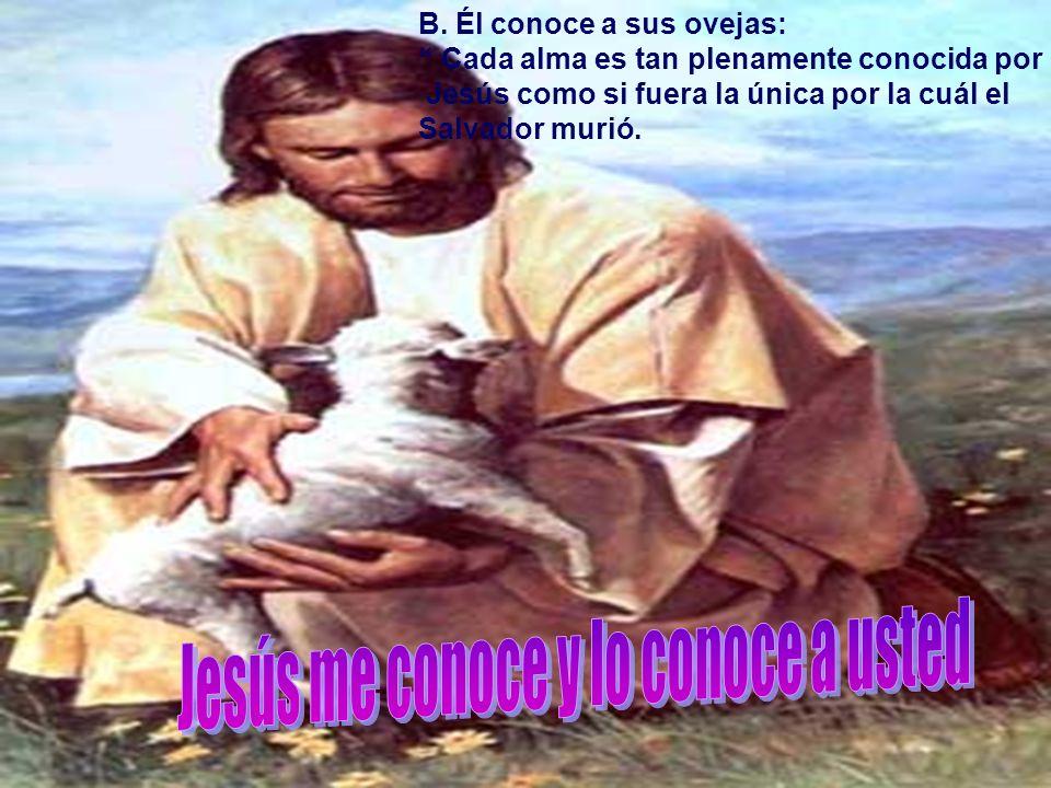 Así es Jesús, él vino delante enfrentó los peligros del camino y hoy él llama a sus ovejas con amor y espera que escuchemos su voz.