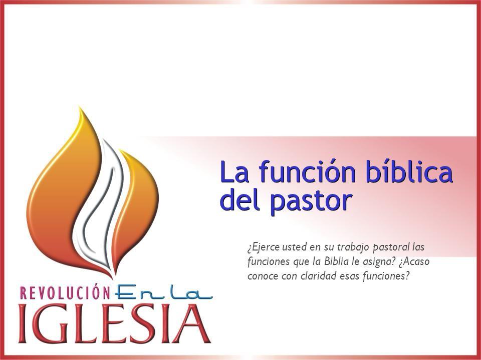 ¡Cuando los pastores asumen totalmente las funciones del ministerio de la iglesia y descuidan la labor de adiestramiento, la iglesia llega a ser espiritualmente débil!