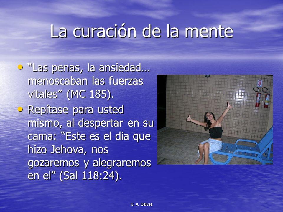 C. A. Gálvez CONFIANZA EN DIOS