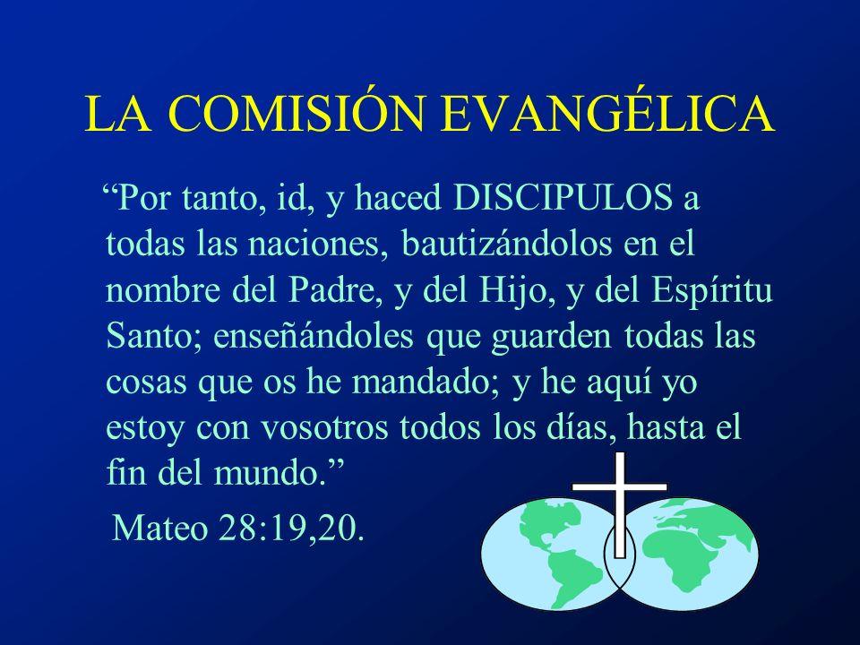 T EOLOGIA DEL COMPROMISO COMISIÓN EVANGÉLICA - MANDAMIENTO BÍBLICO TEOLOGÍA DEL SACERDOCIO DE TODOS LOS CREYENTES TEOLOGÍA DEL CUERPO DE CRISTO TEOLOG