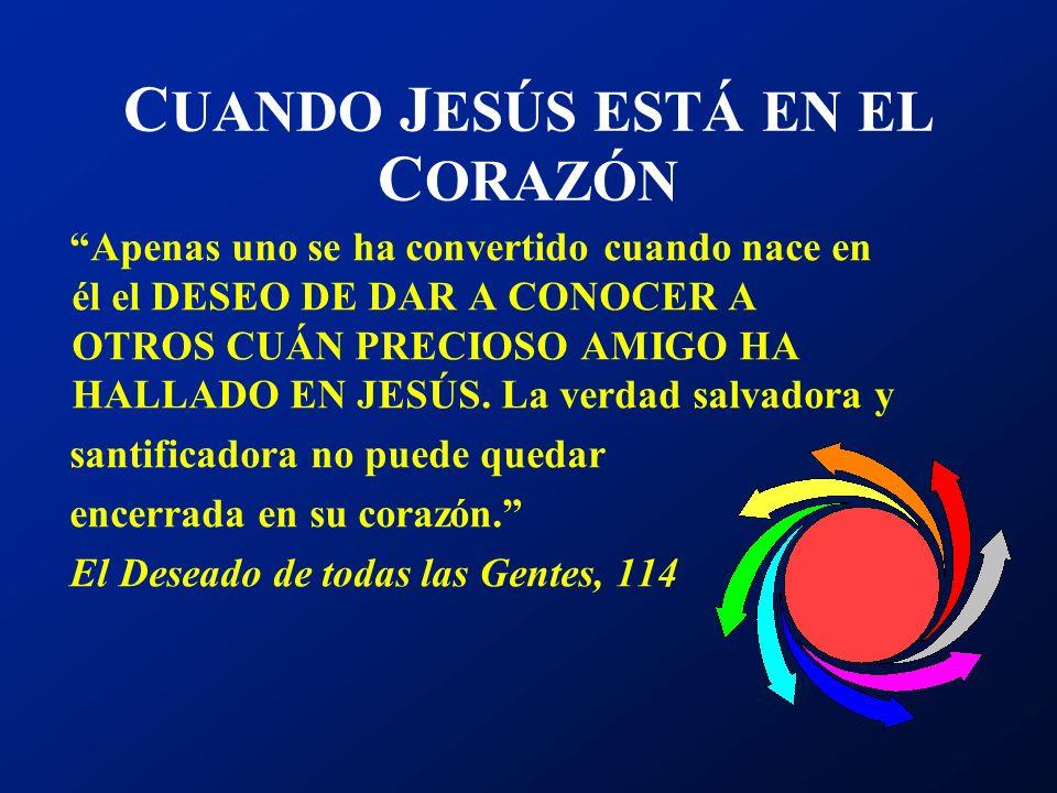 T ESTIMONIO ES LA R ESPUESTA DEL C ORAZÓN AL AMOR El amor de Cristo nos constriñe... 2 Corintios 5:14