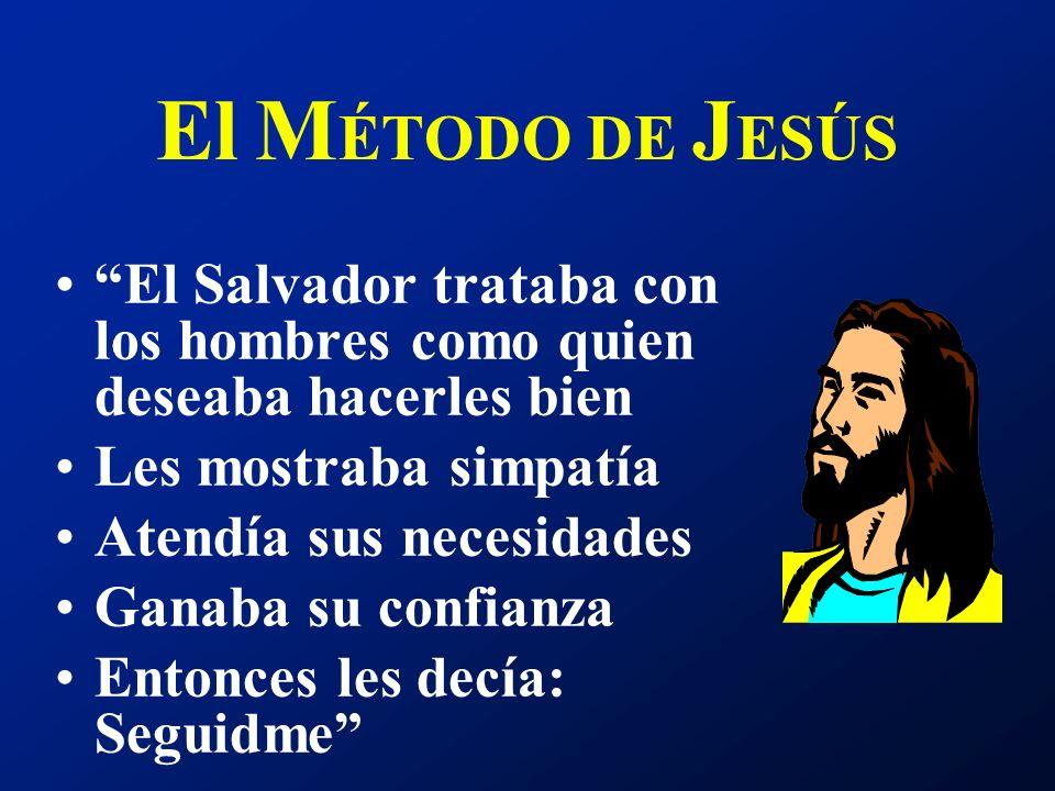 Sólo el método de Cristo será el que dará éxito para llegar a la gente. Ministerio de curación p. 102