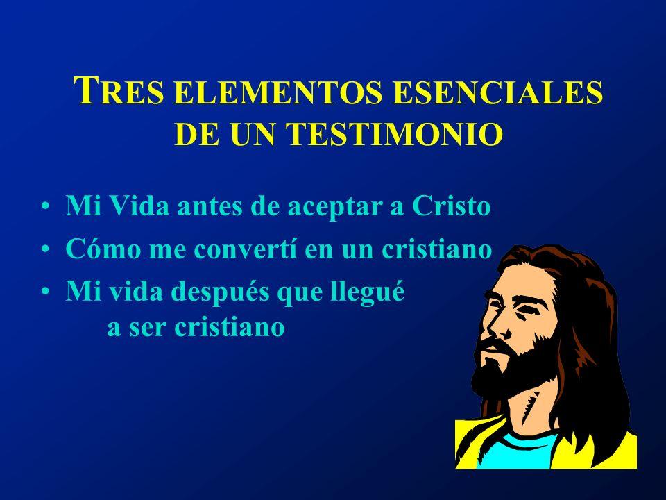 EL P RINCIPIO F ORT F - Familia O - Ocupación R - Religión T - Testimonio