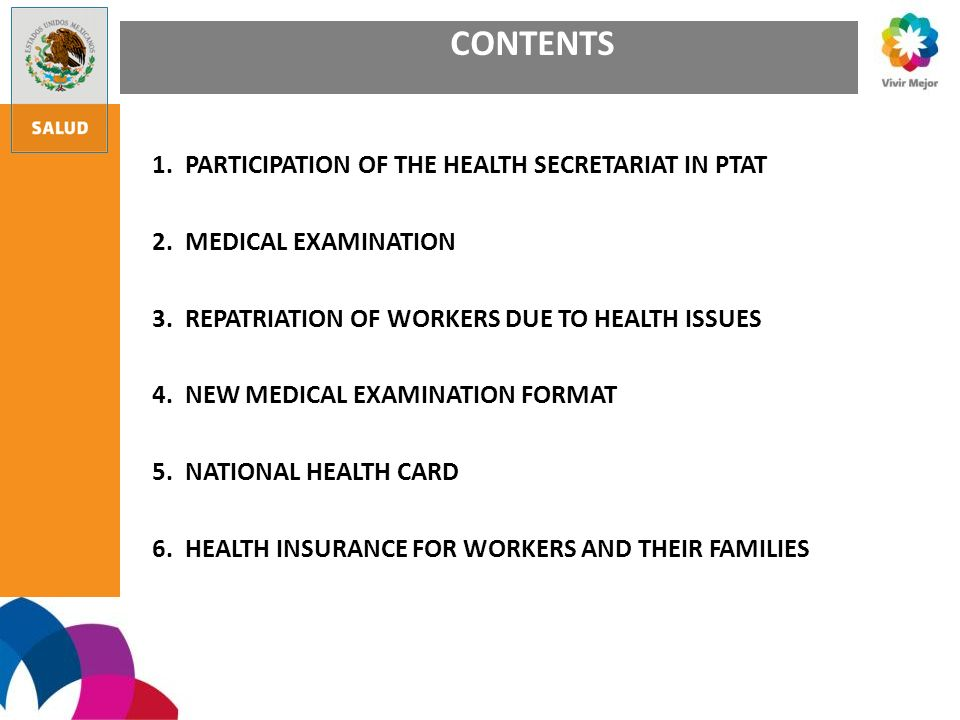 National Health Card for Women aged 20-59 Years General Information Promoting Health: Guidance-Counselling Nutrition: Assessment and surveillance of nutritional status, body mass index, nutrition, nutritional supplements Vaccination Scheme: SR, Td and other vaccines Disease Prevention and Control: HIV/AIDS and STIs, addictions, pulmonar tuberculosis, oral health Disease Detection: Breast and cervical cancer, Diabetes mellitus, hypertension, hypercholesterolemia, pulmonar tuberculosis, dyslipidemia, and lipid profile Sexual and Reproductive Health: Promoting and supplying contraceptive methods, antenatal care and birth assistance, post- partum care, climacterium and menopause surveillance Accident and Injury Prevention: Information and guidance Addiction Prevention: Guidance-Counselling and other actions Medical Care