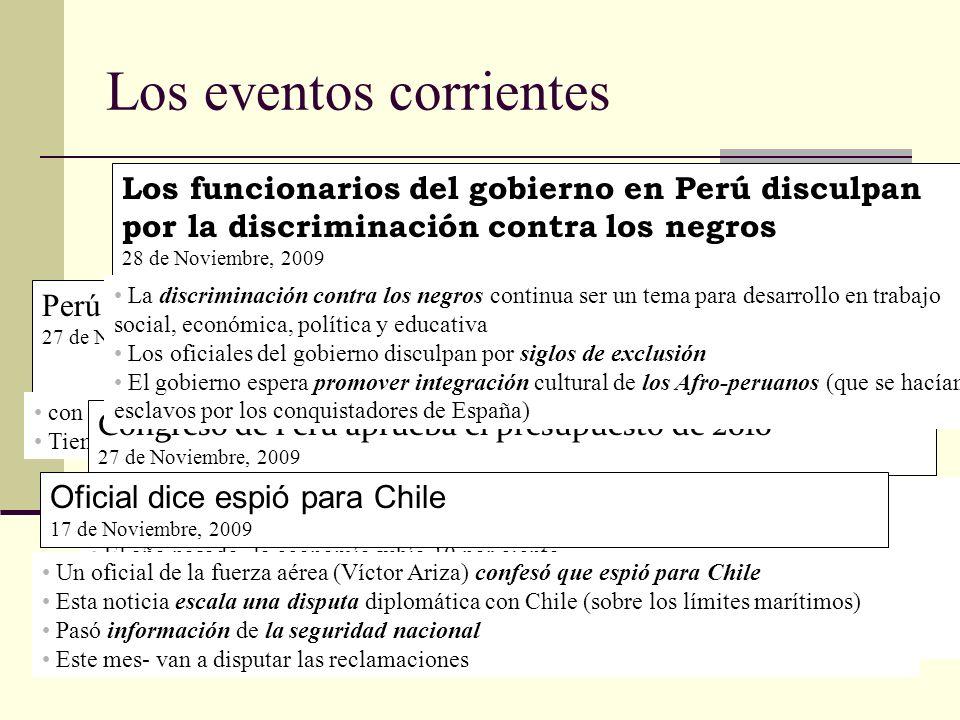 Perú firma un trato de Comercio Libre con países de Europa 27 de Noviembre, 2009 con Suiza, Noruega, Liechtenstein e Islandia Tiene intenciones a bene