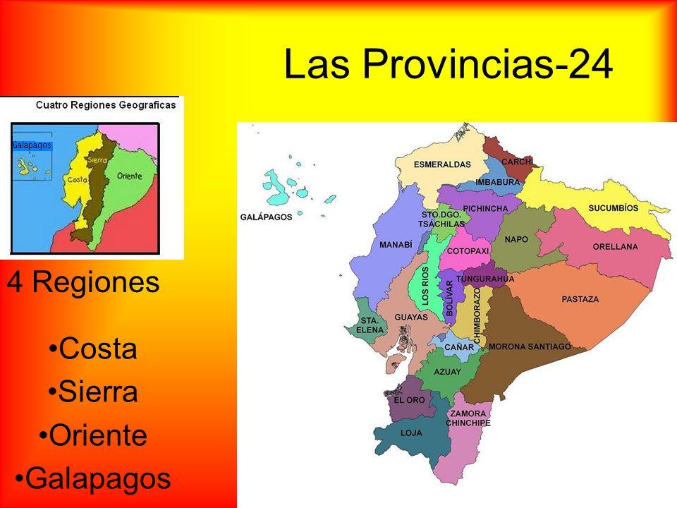 La Populación 14,573,101 personas (Junio, 2009) 2,000,000 personas en Quito 2,000,000 + personas en Guayaquil 65% Mestizo (Mezcla de Indígena y Español) 25% Indígena 7% Español 3% Africano 66% personas viven en lugares urbanos Guayaquil