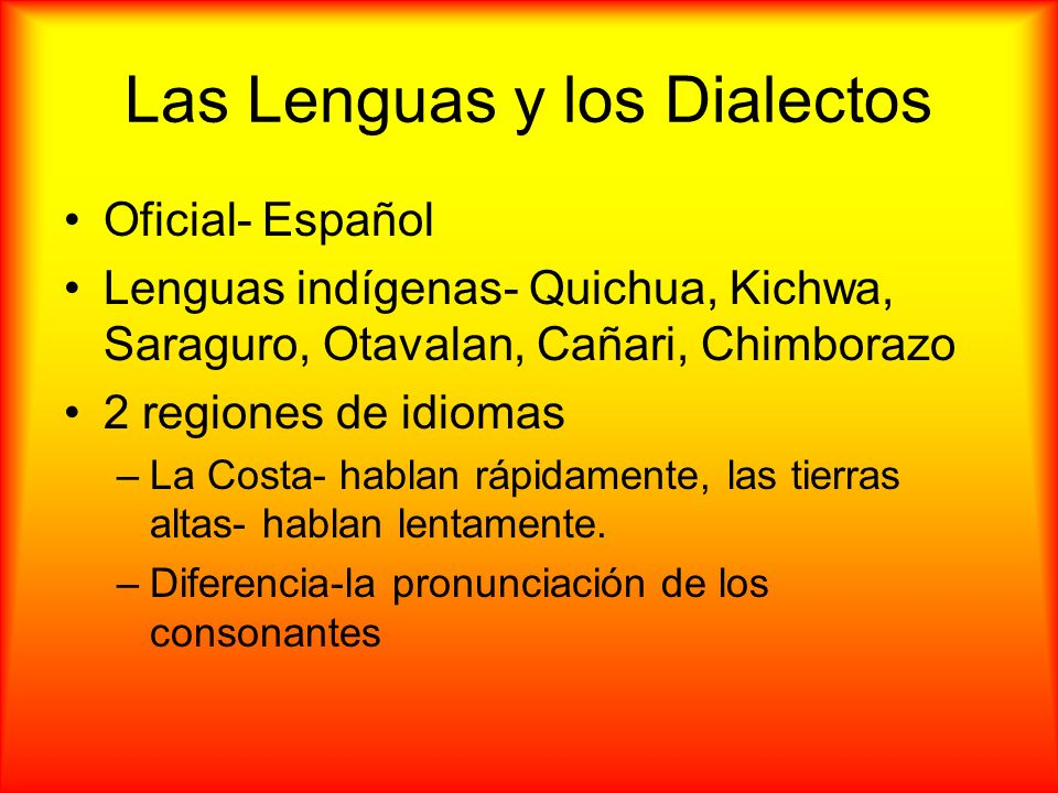 Fuentes Con Consultadas https://www.cia.gov/library/publications/the -world-factbook/geos/ec.html http://online.culturegrams.com/world/world _country.php?contid=7&wmn=South_Ame rica&cid=45&cn=Ecuador http://www.ecuador.org/nuevosite/ http://www.ecuador.travel/