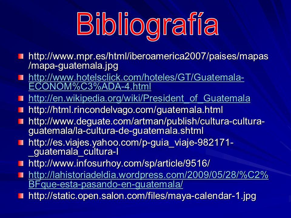 http://www.mpr.es/html/iberoamerica2007/paises/mapas /mapa-guatemala.jpg http://www.hotelsclick.com/hoteles/GT/Guatemala- ECONOM%C3%ADA-4.html http://