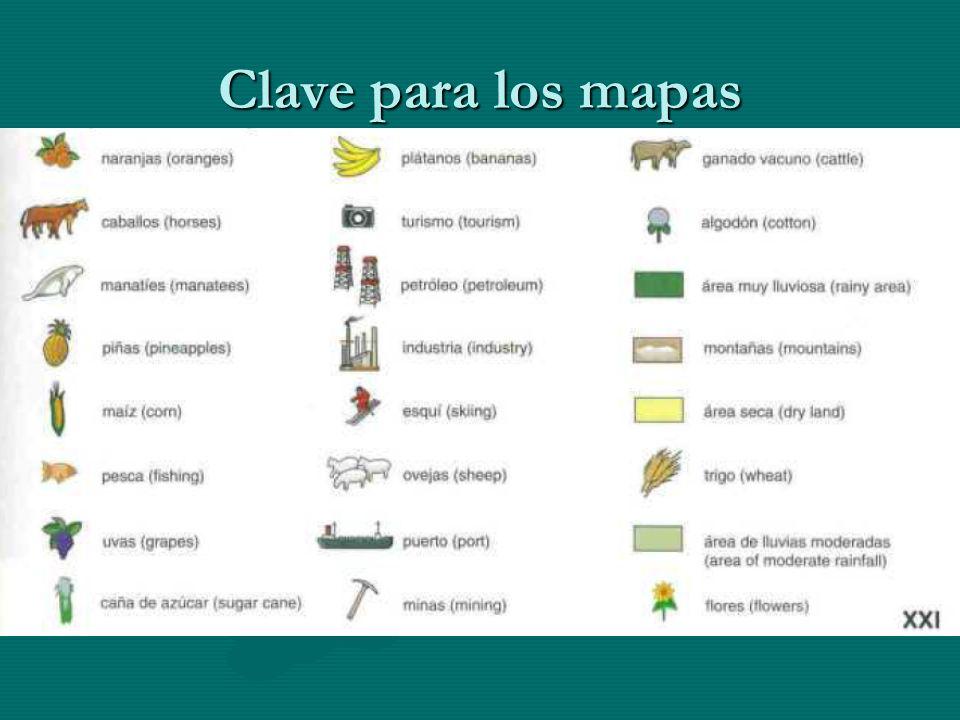 Clave para los mapas