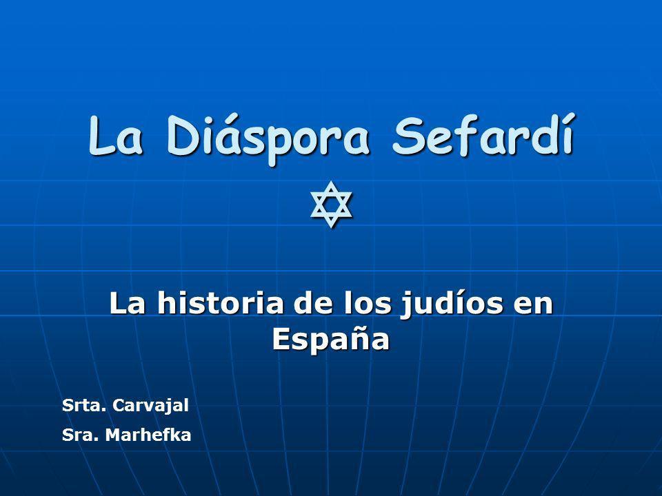 La decisión de Fernando e Isabela En la primavera de 1492 Fernando y Isabela expulsaron a los judíos de España por que querían crear una España unificada.