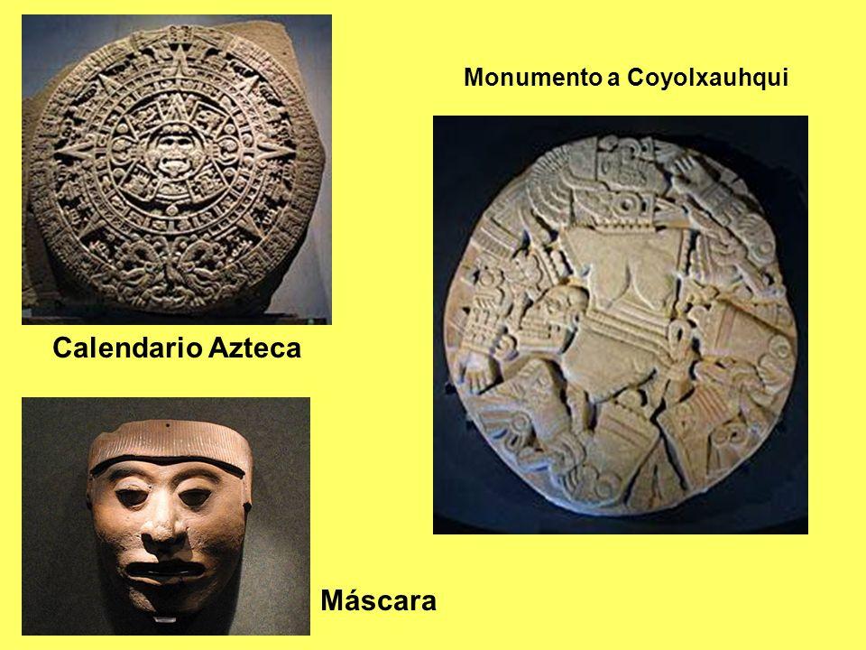 Calendario Azteca Monumento a Coyolxauhqui Máscara