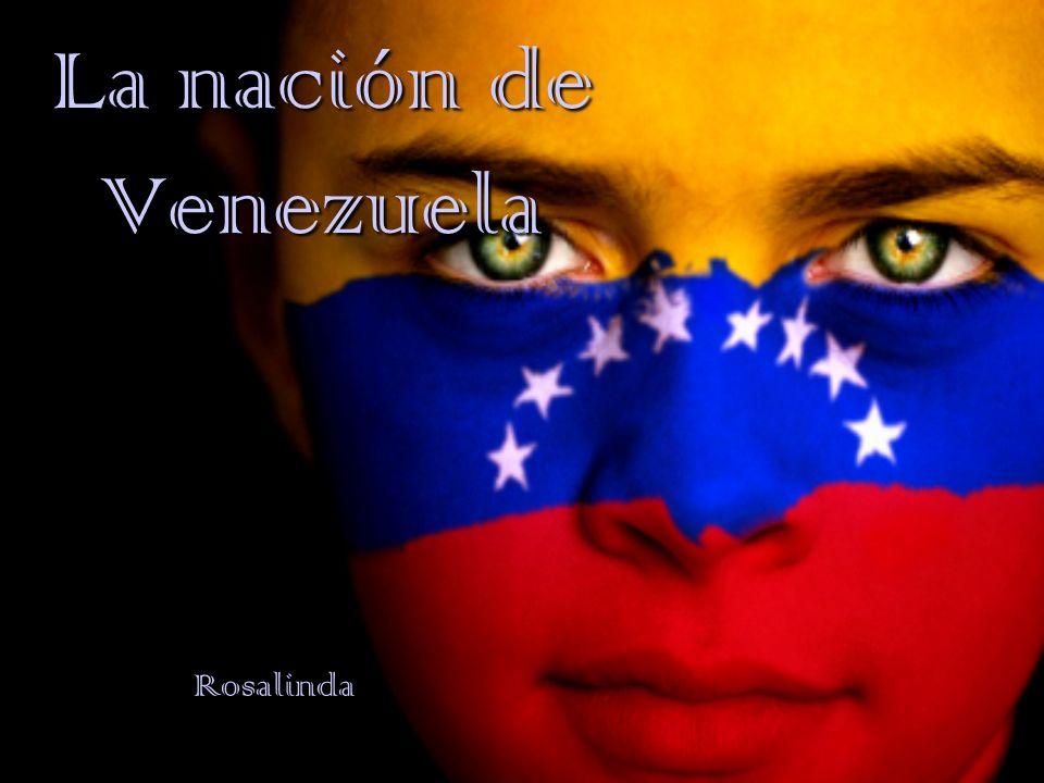 La República Bolivariana de Venezuela Nombre oficial por la constitución de 1953 Entre de Colombia (a el oeste), Brasil (en el sur), y Guyana (en el este) La Capital: Caracas Otras ciudades importantes: -Maracaibo -Valencia -Maracay